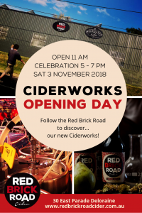 Ciderworks Opening Day